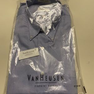 Van Heusen pinpoint Oxford dress shirt